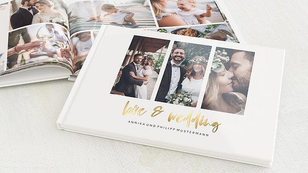 Fotobuch Hochzeit - Love & Joy