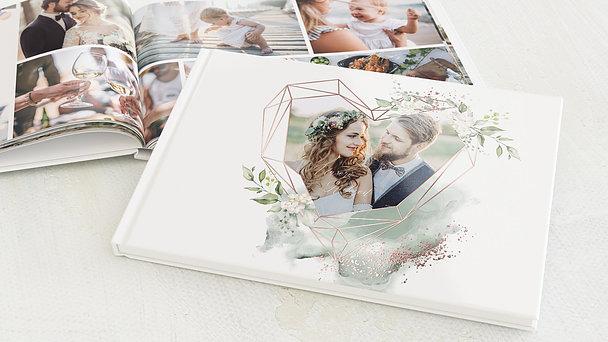 Fotobuch Hochzeit - Herzliche Eleganz