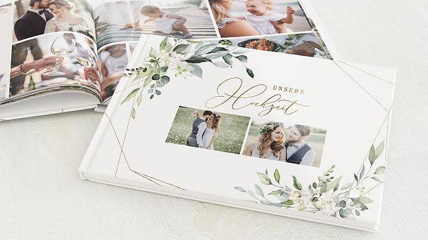 Fotobuch Hochzeit - Tender Florals