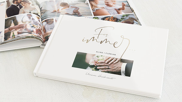Fotobuch Hochzeit - Schmetterlingslachen