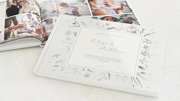 Fotobuch Hochzeit - Wiesenblume