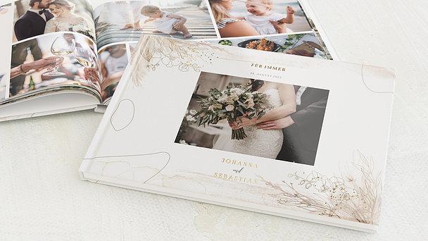 Fotobuch Hochzeit - Zarte Orchideen