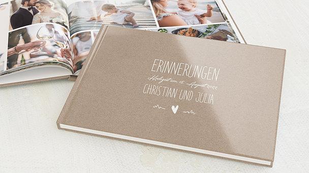 Fotobuch Hochzeit - Rustique