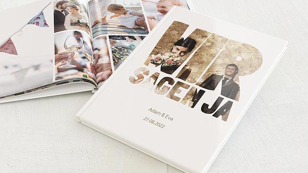 Fotobuch Hochzeit - Liebe durch und durch