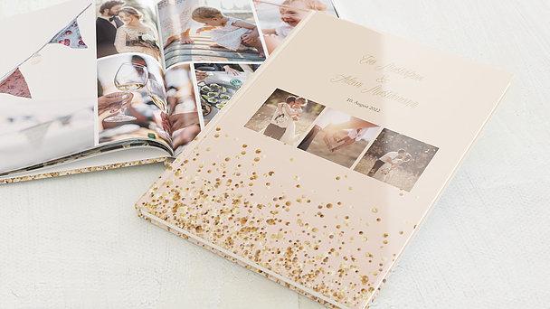 Fotobuch Hochzeit - Geflitter
