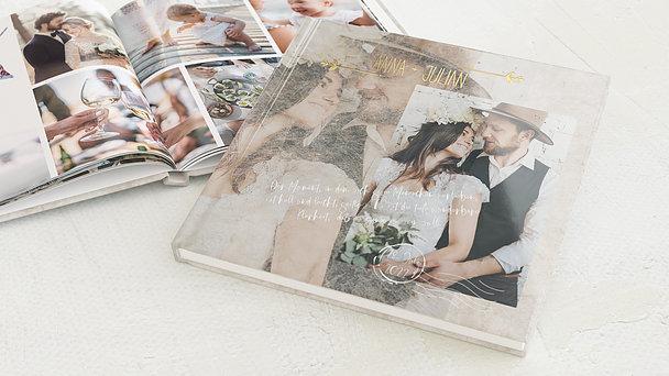 Fotobuch Hochzeit - Zeitloses Strahlen
