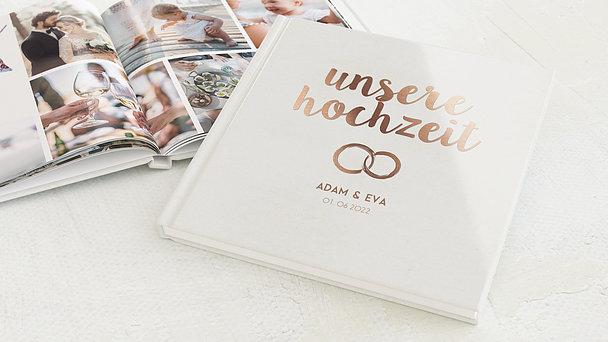 Fotobuch Hochzeit - Edles Ja
