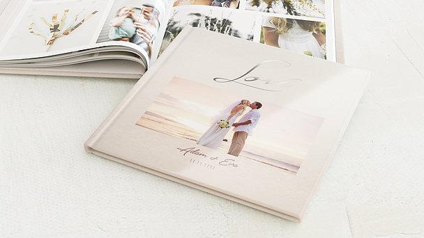 Fotobuch Hochzeit - Weicher Glanz