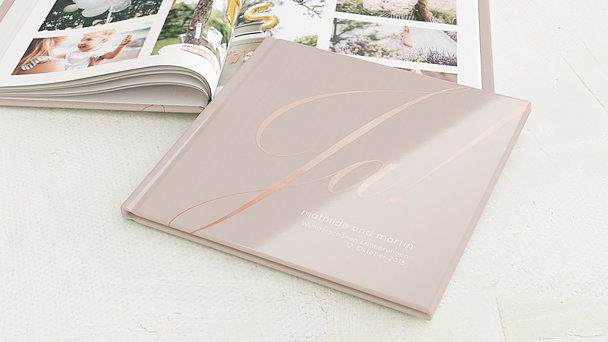 Fotobuch Hochzeit - Glitterfunken