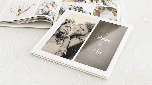 Fotobuch Hochzeit - Getäfelt