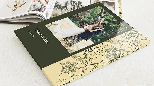 Fotobuch Hochzeit - Sinfonie der Blüten