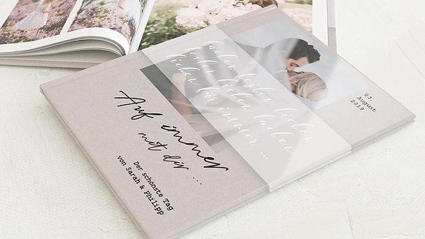 Fotobuch Hochzeit - Zarter Schleier