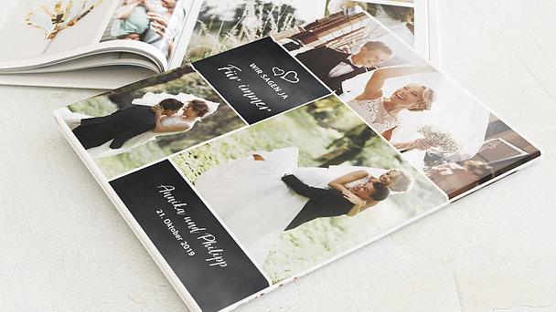 Fotobuch Hochzeit - Herz & Seele