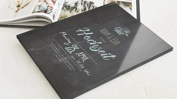 Fotobuch Hochzeit - Ankündigung
