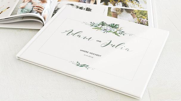 Fotobuch Hochzeit - Blütentraum
