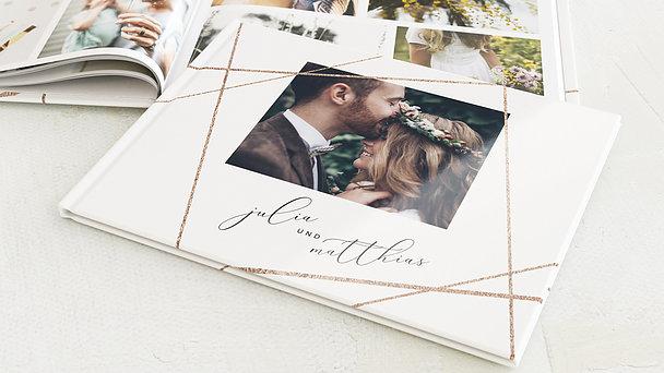 Fotobuch Hochzeit - Klare Linien