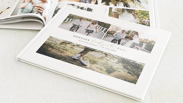 Fotobuch Hochzeit - Unforgettable Moments