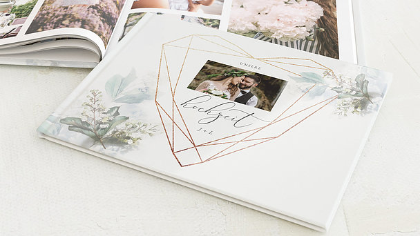 Fotobuch Hochzeit - Herzensmelodie