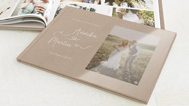 Fotobuch Hochzeit - Herzflug