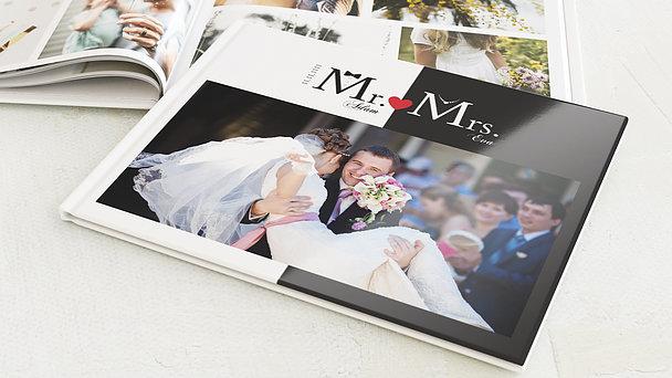 Fotobuch Hochzeit - Mr & Mrs