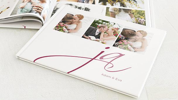 Fotobuch Hochzeit - Ja!