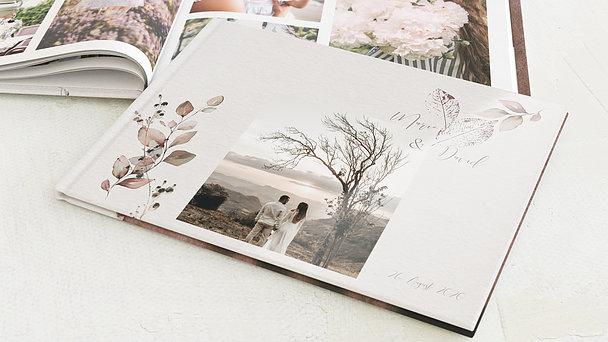 Fotobuch Hochzeit - Elfenblätter