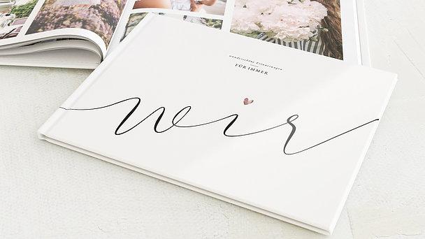 Fotobuch Hochzeit - Für immer wir