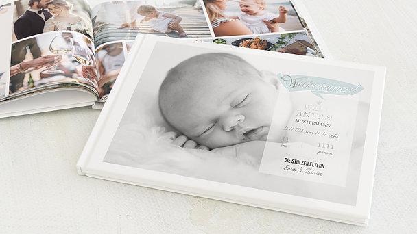 Fotobuch Baby - Ankunft