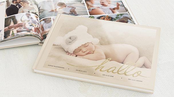 Fotobuch Baby - Hallo Baby