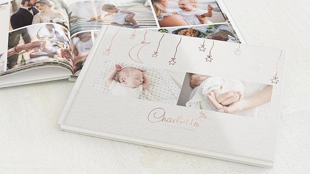 Fotobuch Baby - Sternengirlande