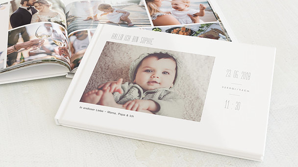 Fotobuch Baby - Klein aber oho
