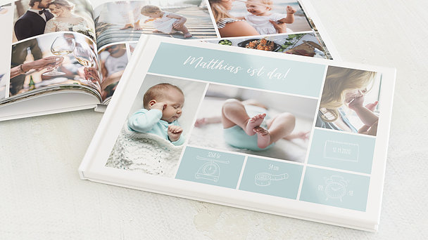 Fotobuch Baby - Tiny big love