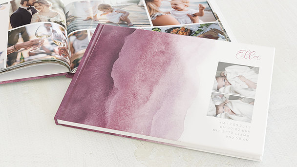 Fotobuch Baby - Aqua
