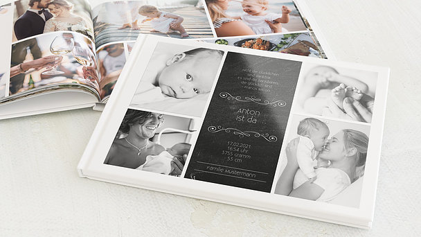 Fotobuch Baby - Babytafel