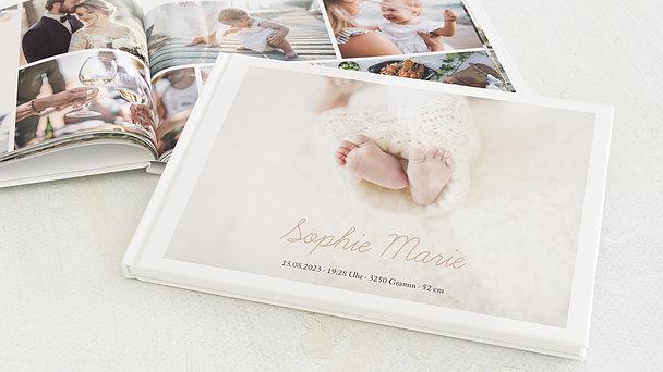 Fotobuch Baby - Einfach & Simple