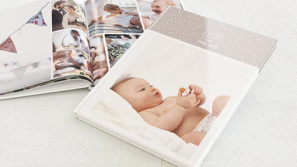Fotobuch Baby - Mit Liebe