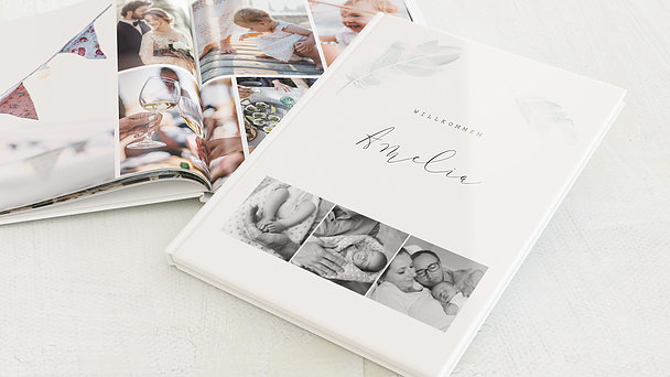 Fotobuch Baby - Federstreich
