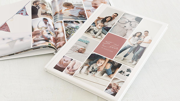Fotobuch Baby - Wunderbar zu dritt