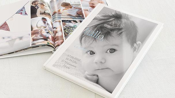 Fotobuch Baby - Willkommen