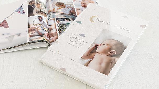 Fotobuch Baby - Wolkenbilder