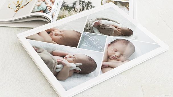 Fotobuch Baby - Facetten Baby