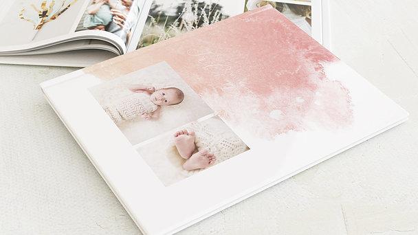 Fotobuch Baby - Herzpfade