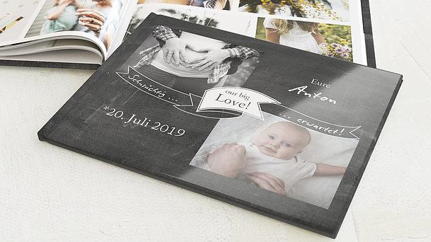 Fotobuch Baby - Sehnsuchtsvoll