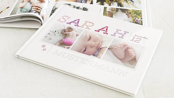 Fotobuch Baby - Erster Gruß