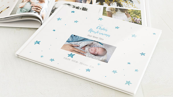 Fotobuch Baby - Abendstern