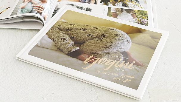 Fotobuch Baby - Zarter Gruß