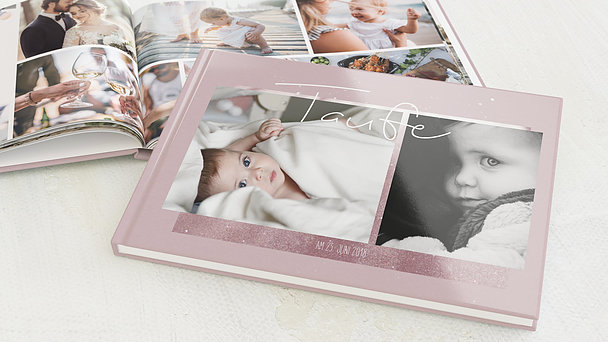 Fotobuch Taufe - Milky Way Baby