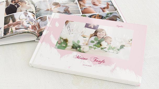 Fotobuch Taufe - Feder