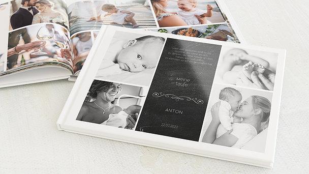 Fotobuch Taufe - Babytafel