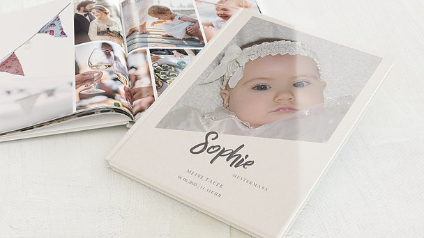 Fotobuch Taufe - Erdenbürger